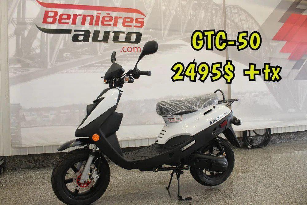 scooter GTA 50 blanc 6