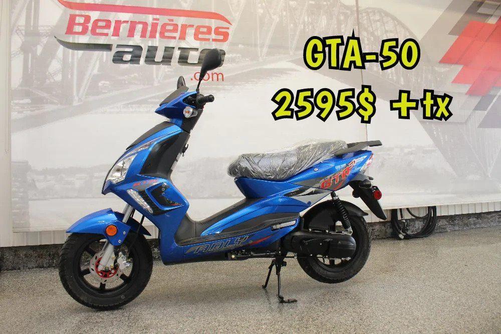 scooter GTA 50 blue