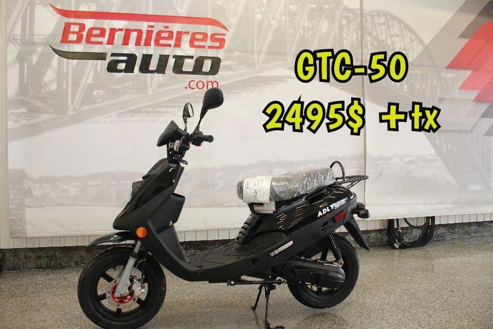 scooter GTA 50 noir L4