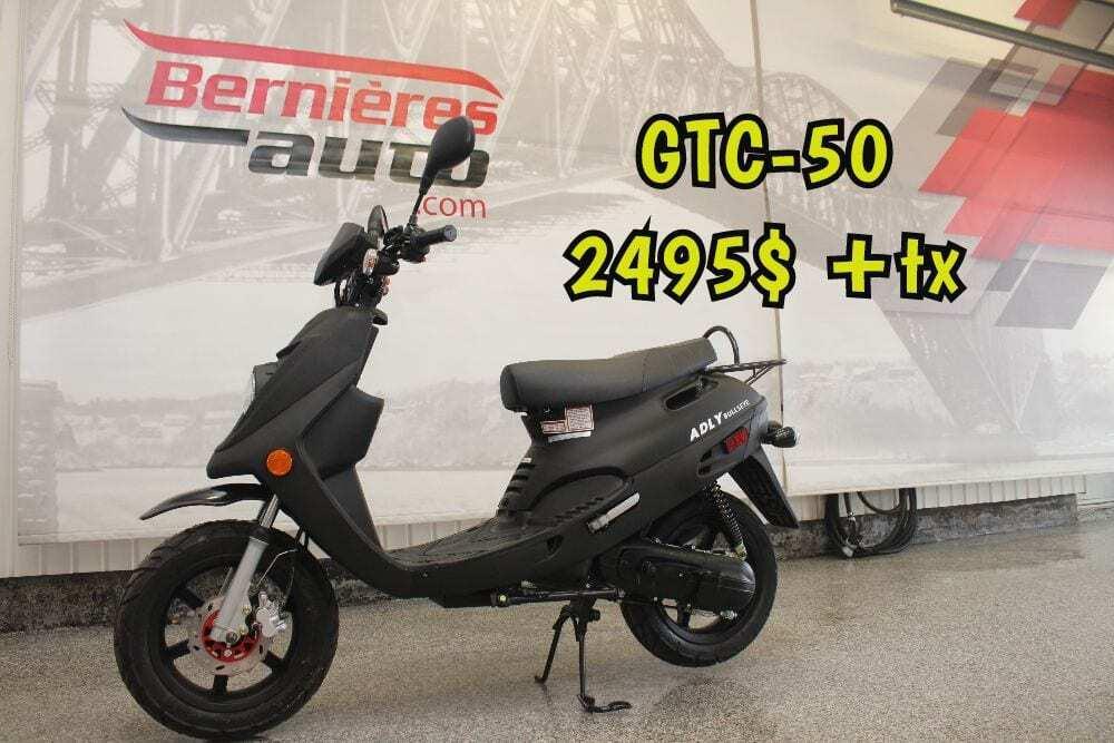 scooter GTA 50 noir M