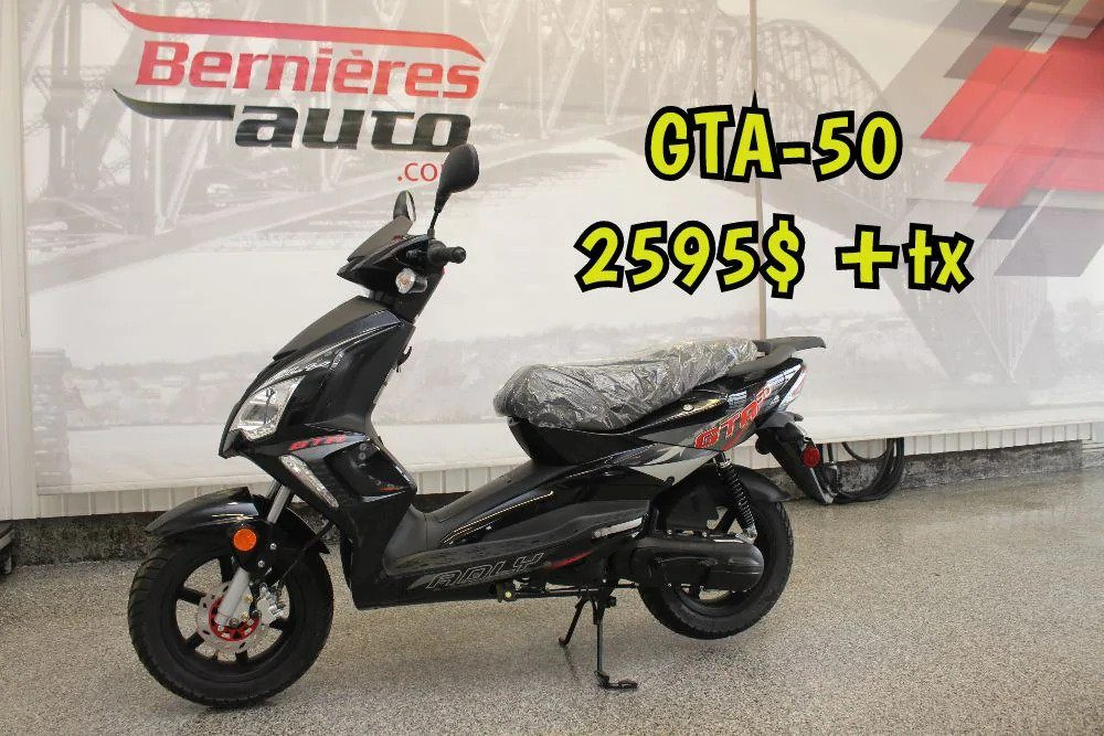 scooter GTA 50 noir