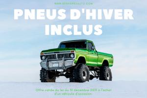 promotion Bernieres Auto Lévis Pneus hiver